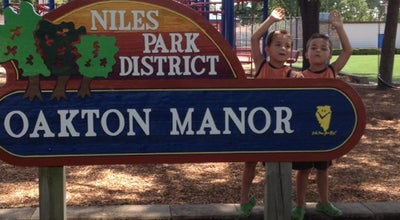 Photo of Park Oakton Manor Park at 8122 N Ozark Ave, Niles, IL 60714, United States