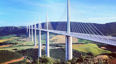Photo of Bridge Viaduc de Millau at Autoroute A75, Millau 12100, France