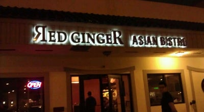 Photo of Asian Restaurant Red Ginger Asian Bistro at 9710 W Sample Rd, Coral Springs, FL 33065, United States