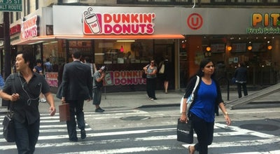 Photo of Coffee Shop Dunkin' Donuts at 1369 Broadway, New York, NY 10018, United States