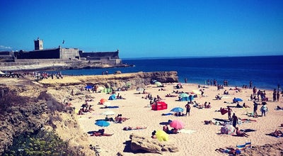 Photo of Beach Praia de Carcavelos at Av. Marginal, Cascais, Portugal