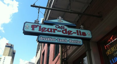 Photo of Breakfast Spot Café Fleur de Lis at 307 Chartres St, New Orleans, LA 70130, United States