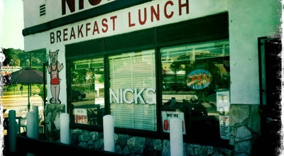 Photo of Diner Nick's Cafe at 1300 N Spring St, Los Angeles, CA 90012, United States