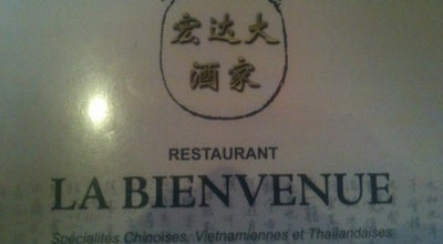 Photo of Chinese Restaurant La Bienvenue at 30 Rue De Beauvais, Amiens 80000, France