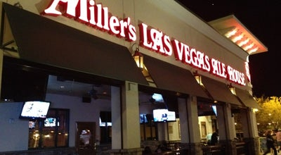 Photo of American Restaurant Miller's Las Vegas Alehouse at 6683 Las Vegas Blvd S, Las Vegas, NV 89119, United States