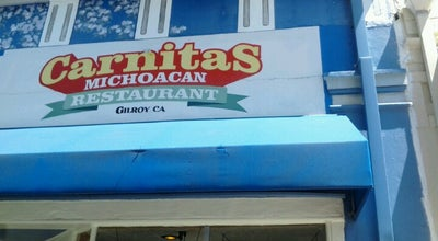 Photo of Mexican Restaurant Carnitas Michoacan at 7484 Monterey St, Gilroy, CA 95020, United States