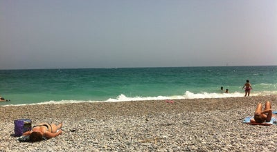 Photo of Beach Plage Antibes / Biot at Route Du Bord De Mer, Antibes 06600, France