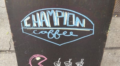 Photo of Coffee Shop Champion Coffee at 1108 Manhattan Ave, Brooklyn, NY 11222, United States