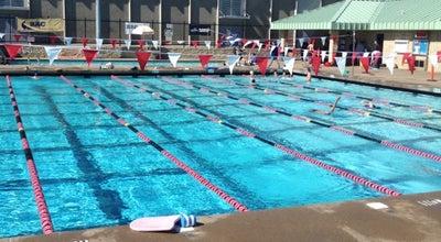 Photo of Pool Burlingame Aquatic Club at 851 Oak Grove Ave, Burlingame, CA 94044, United States