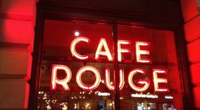 Photo of French Restaurant Cafe Rouge - Tottenham Court Road at 264 Tottenham Court Road, London W1T 7RH, United Kingdom