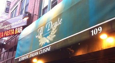 Photo of Italian Restaurant Al Dente at 109 Salem St., Boston, MA 02113, United States