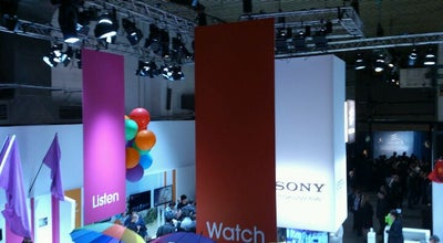 Photo of Event Space Sony Mobile Communications at the Mobile World Congress at Spain