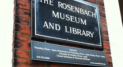 Photo of Museum Rosenbach Museum & Library at 2008-2010 Delancey St, Philadelphia, PA 19103, United States
