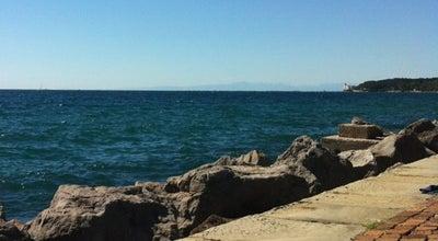 Photo of Beach Lungomare Barcola at Viale Miramare, Trieste, Italy
