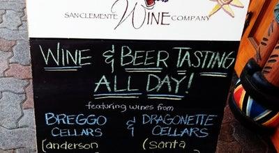 Photo of Wine Bar San Clemente Wine Company at 212 1/2 Avenida Del Mar, San Clemente, CA 92672, United States