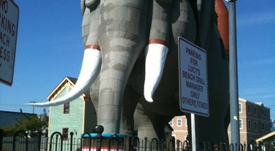 Photo of Monument / Landmark Lucy the Elephant at 9200 Atlantic Ave, Margate City, NJ 08402, United States