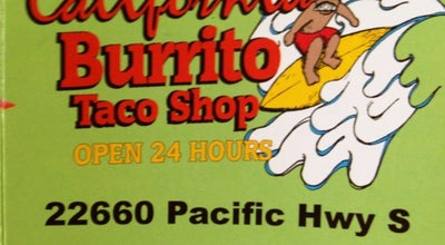 Photo of Mexican Restaurant California Burritos at Kent, WA 98032, United States