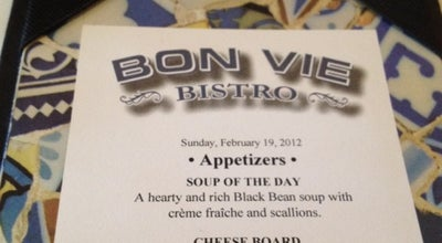 Photo of French Restaurant Bon Vie Bistro at 4089 The Strand E, Columbus, OH 43219, United States