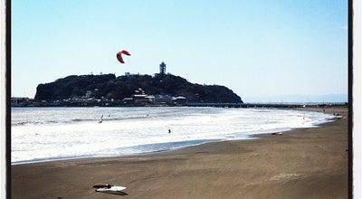 Photo of Beach 腰越海岸 at 腰越, 鎌倉市, Japan
