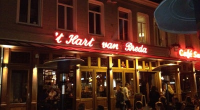 Photo of Cafe 't Hart van Breda at Grote Markt 4, Breda 4811 XR, Netherlands