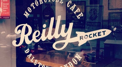 Photo of Cafe Reilly Rocket at 507 Kingsland Rd, London E8 4AU, United Kingdom