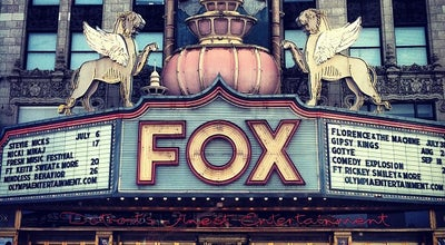 Photo of Theater Fox Theatre at 2211 Woodward Ave, Detroit, MI 48201, United States