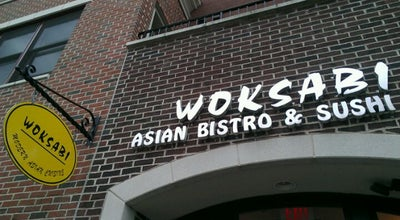 Photo of Sushi Restaurant Woksabi Asian Bistro & Sushi Bar at 608 Haddon Ave, Collingswood, NJ 08108, United States