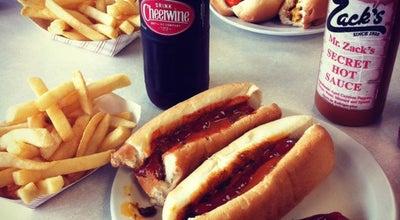 Photo of Hot Dog Joint Zack's Hotdogs at 201 W Davis St, Burlington, NC 27215, United States