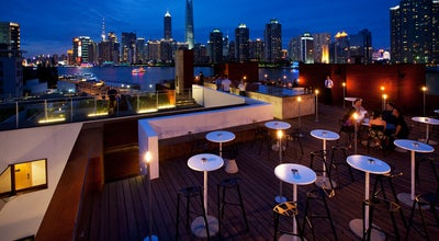 Photo of Hotel Bar The Roof At Waterhouse at Mao Jia Yuan Road, Shanghai, Sh 200011, China