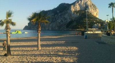 Photo of Beach Playa de La Fossa / Levante at Paseo Marítimo, Calpe 03710, Spain