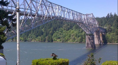 Photo of Bridge Bridge of the Gods at Columbia River Gorge, Cascade Locks, OR 97014, United States