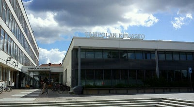 Photo of Library Sampolan kirjasto at Sammonkatu 2, Tampere, Finland