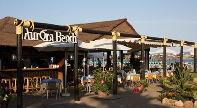 Photo of Spanish Restaurant Aurora Beach at Playa De Puerto Banús, Marbella 29660, Spain