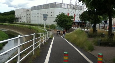 Photo of Trail 藤沢大和自転車道 at 下鶴間, 大和市, Japan