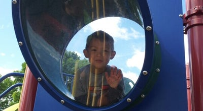 Photo of Playground Memorial Park Main Playground at 1717 E Witzke Blvd, Appleton, WI 54911, United States