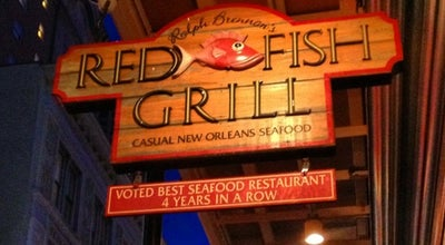 Photo of Seafood Restaurant Red Fish Grill at 115 Bourbon St, New Orleans, LA 70130, United States