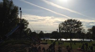 Photo of Playground Spielplatz Rheinpark at Rheinparkweg 1, Cologne 50679, Germany