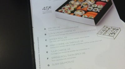 Photo of Sushi Restaurant Sushi Shop at 1 Rue André Chenier, Issy Les Moulineaux 92130, France