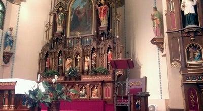 Photo of Church St. Mary's at 228 E Jefferson St, Iowa City, IA 52245, United States