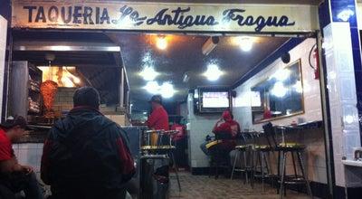 Photo of Taco Place La Autentica Fragua at San Agustin, Naucalpan de Juárez, Mexico