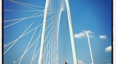 Photo of Bridge Margaret Hunt Hill Bridge at Woodall Rodgers Fwy, Dallas, TX 75208, United States