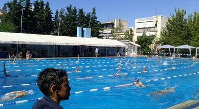 Photo of Pool Δημοτικό Κολυμβητήριο Αιγάλεω at Δημαρχείου 17, Egaleo 122 42, Greece
