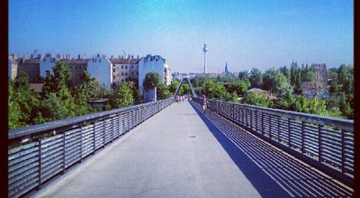 Photo of Bridge Schwedter Steg at Schwedter Str., Berlin 10437, Germany