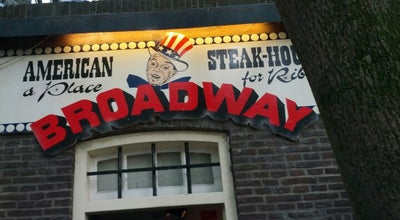 Photo of Steakhouse American Steakhouse Broadway at Oudegracht Aan De Werf 139, Utrecht 3511 AL, Netherlands