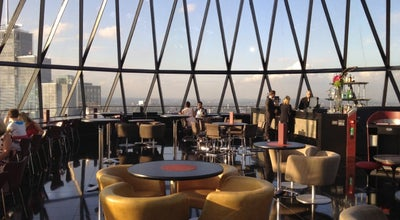 Photo of Restaurant Searcys at 40|30, The Gherkin at 30 St Mary Axe, City of London EC3A 8EP, United Kingdom