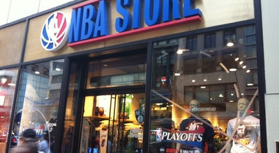 Photo of Clothing Store NBA Store at 590 5th Ave, New York, NY 10036, United States