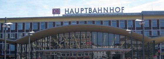 bochum hauptbahnhof bahnhof in bochum. Black Bedroom Furniture Sets. Home Design Ideas