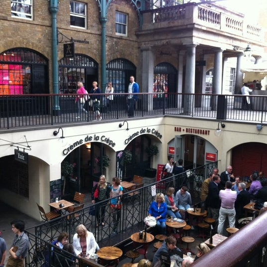 Photo taken at Covent Garden Market by Derek R. on 7/3/2012