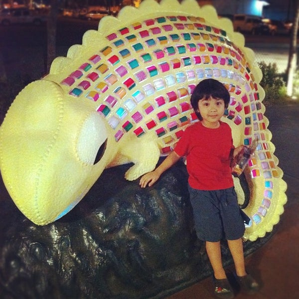 Photo taken at Bonifacio High Playground by Mish S. on 2/10/2012