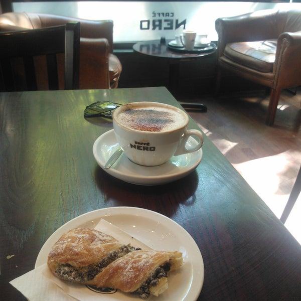 Photo taken at Caffè Nero by Sandro S. on 5/27/2012